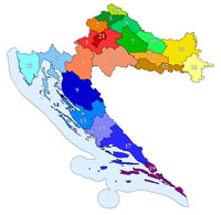Regions of Croatia